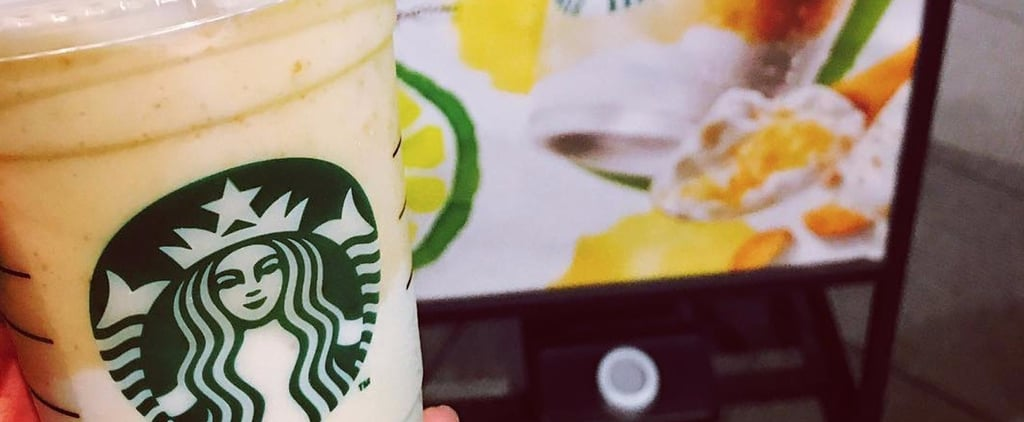 Starbucks Japan's New Key-Lime-Flavored Frappuccino Is Sunshine in a Cup