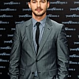 Between the grey suit, the skinny black tie, and the perfectly manicured facial hair, Shia was the picture of hotness at the June 2011 premiere of Transformers: Dark of the Moon in Germany.