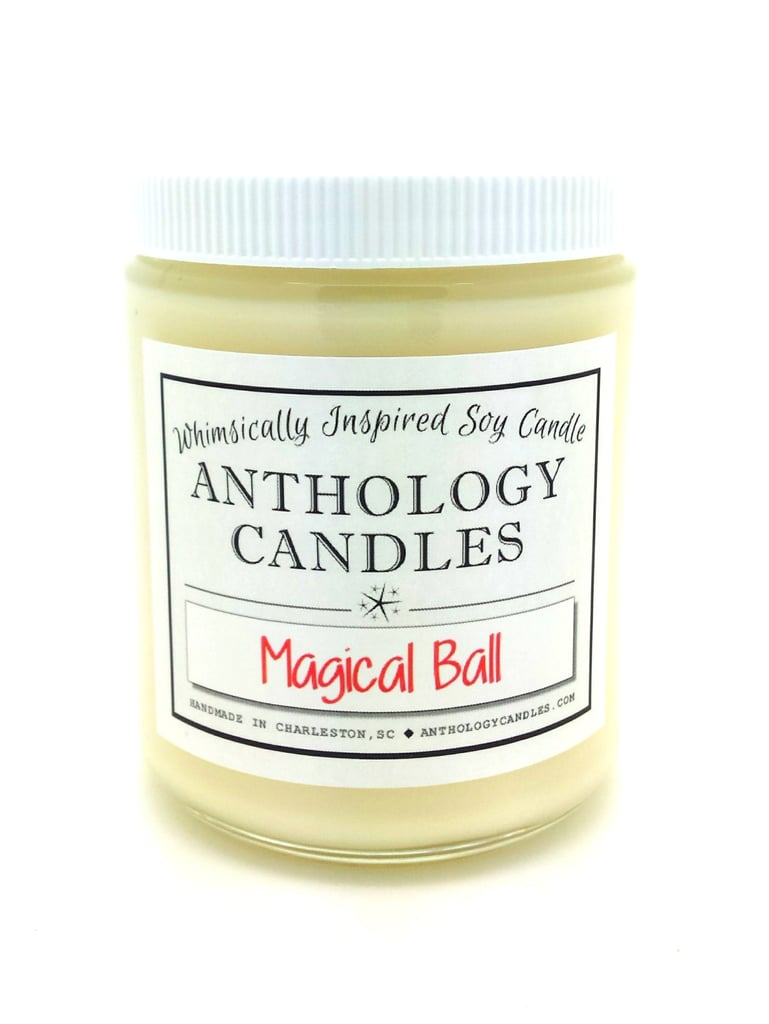 Magical Ball candle ($16) with sweet mistletoe, snow, eucalyptus, spearmint, Christmas tree, and subtle sugar notes