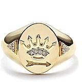 Foundrae Classic Signet Dream Ring
