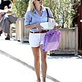 Reese Witherspoon back from her honeymoon.