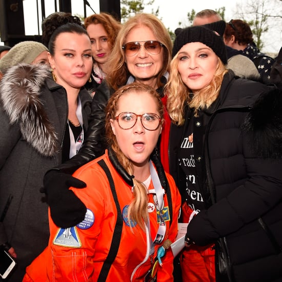 Celebrities at Women's Marches Pictures January 2017