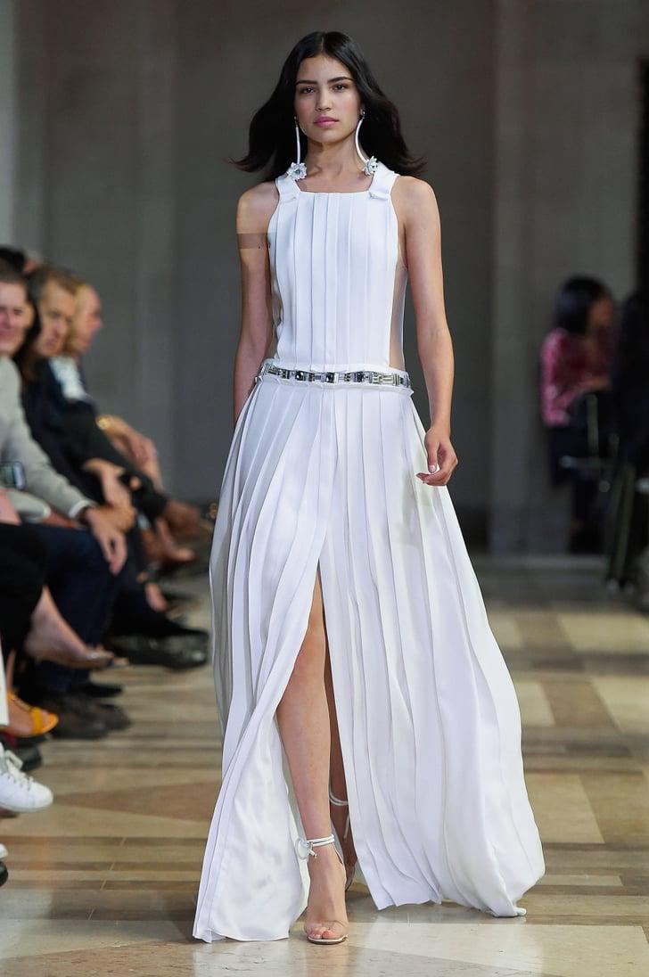 b1a3bf5ad Pleated Fashion Trend Spring 2016 | POPSUGAR Fashion