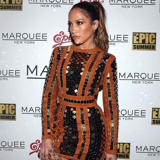 Jennifer Lopez's Balmain Dress August 2016