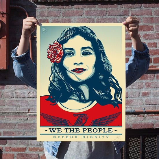 Shepard Fairey Launches We the People Campaign