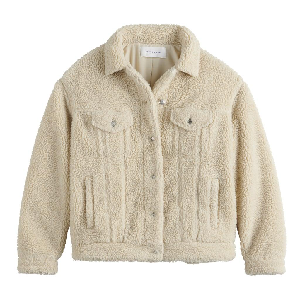 POPSUGAR Sherpa Trucker Jacket