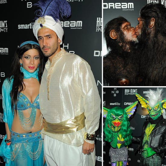 So Cute It's Scary: Celeb Couples Celebrate Halloween