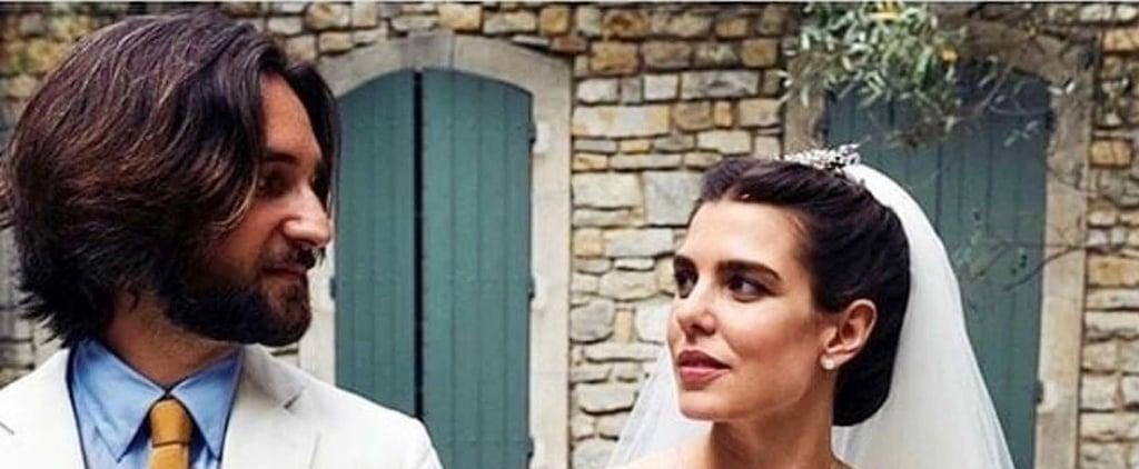 Charlotte Casiraghi's Giambattista Valli Wedding Dress