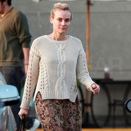 Diane Kruger Style Pictures at LA Supermarket