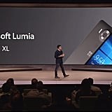 Panos Panay leading the presentation on the Lumia phones.