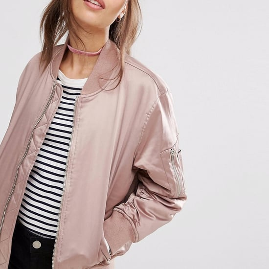 Best Shopping For Bomber Jacket and Choker Fall Outfit Ideas