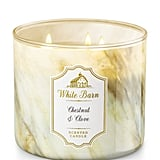 Chestnut & Clove candle ($25)