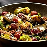 Charred Brussels Sprouts With Grapes