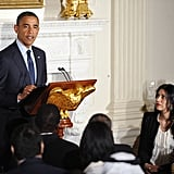 In 2012, Abedin was invited to the White House for a Ramadan celebration.