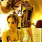 Ashley Benson got ready for a premiere in Berlin. Source: Instagram user itsashbenzo