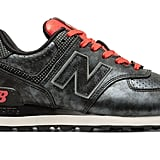 New Balance 574 Disney in black and red ($90)