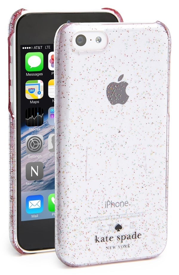 separation shoes 96fc2 fd370 Kate Spade Glitter iPhone 5c Case | The Best Designer iPhone Cases ...