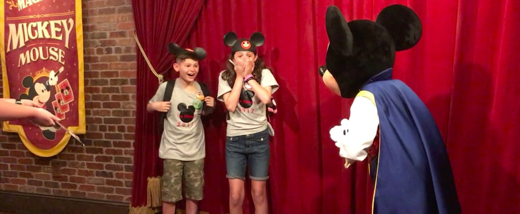 "Mickey Mouse's ""Adoption Day"" Surprise For 2 Kids Shows the Real Magic of Disney"