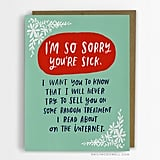Greeting Cards For People With Cancer