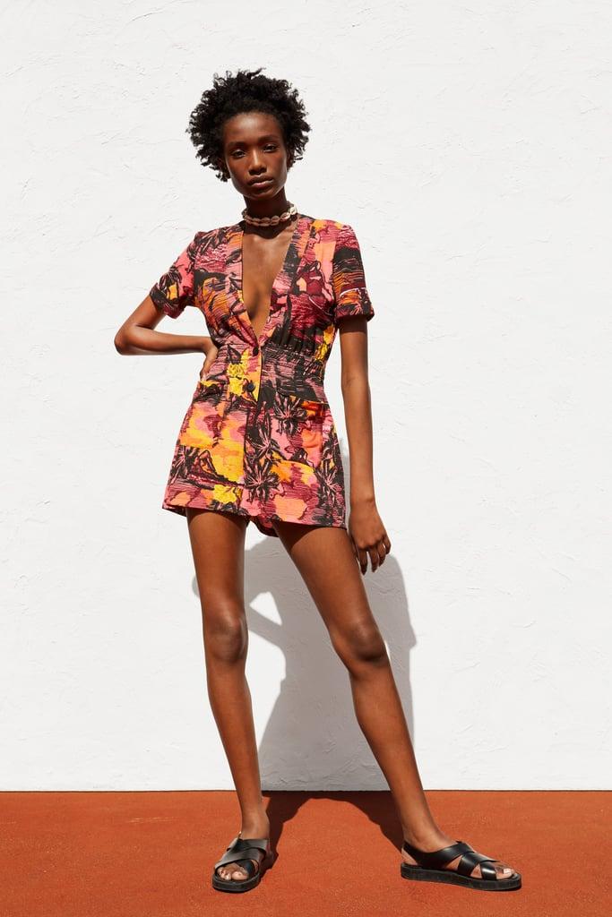 Zara Print Jumpsuit