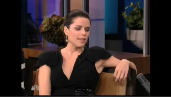 Neve Campbell and Tracy Morgan Talk Favorite Scary Movies on Leno