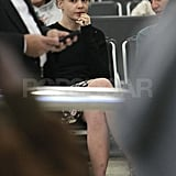 Carey Mulligan at the airport in Sydney.
