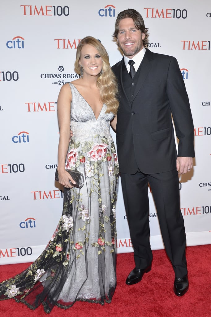 Carrie Underwood brought Mike Fisher to the event.