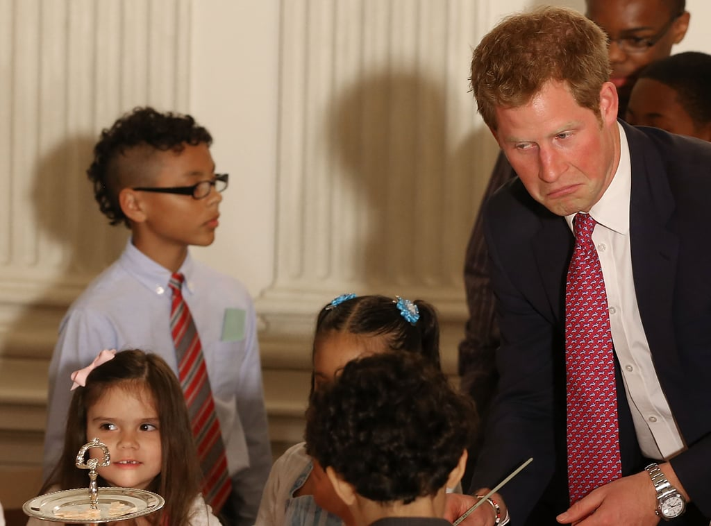 Prince Harry attended an event in DC.