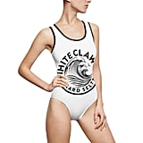 White Claw One-Piece Swimsuit