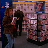 Getting a Holiday Movie at Blockbuster