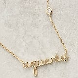 Anthropologie Astrologer Necklace