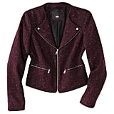 Warm up your skinny trousers with this Mossimo blazer ($40).