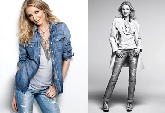 Photos and Quotes of Cameron Diaz in Marie Claire