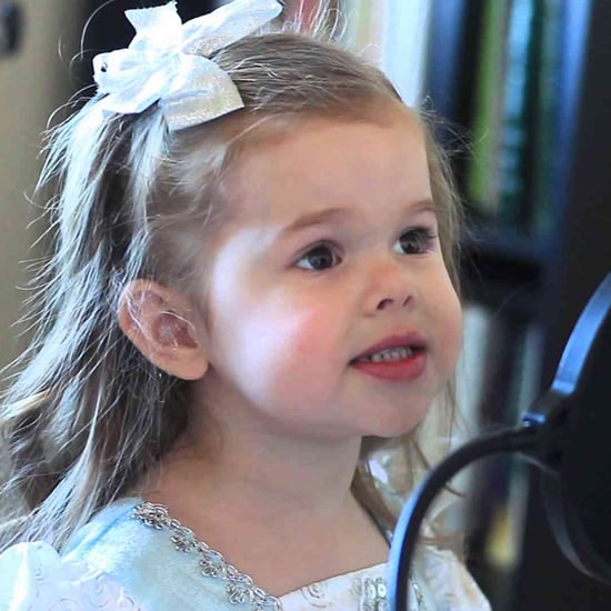 3-Year-Old Girl Singing Song From The Little Mermaid