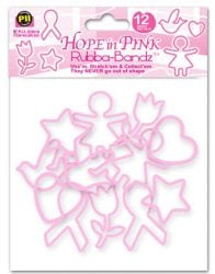 Pink Silly Bandz ($34)