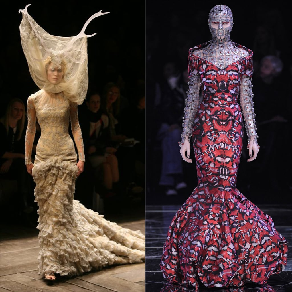 Alexander McQueen Savage Beauty Fashion Exhibit | POPSUGAR ...