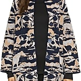 See by Chloé Horses High Collar Coat ($595)