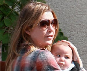 Pictures of Ellen Pompeo With Her Daughter Stella Ivery in NYC
