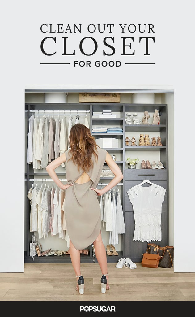How To Clean Your Closet tips for cleaning out your closet | popsugar fashion