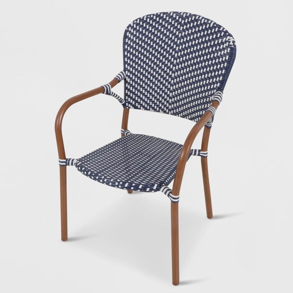 Wicker Patio Dining Chair