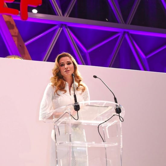 Queen Rania Humanitarian Award at Cannes Fashion For Relief