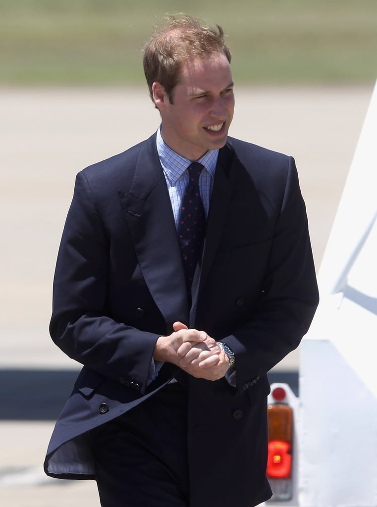 Photos of Prince William in Australia and New Zealand