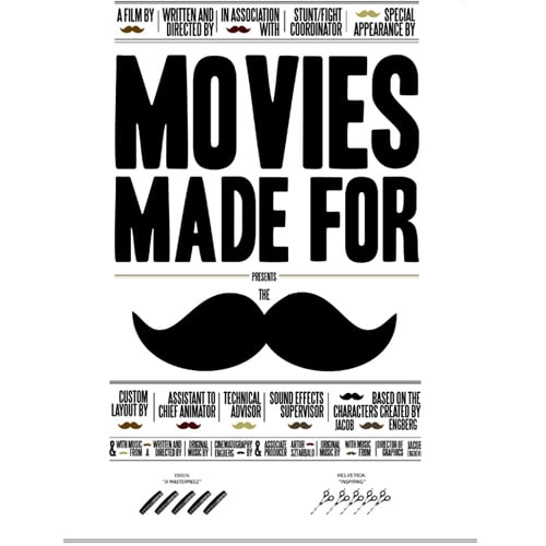 Movie Quotes With Mustaches Inserted Into Them