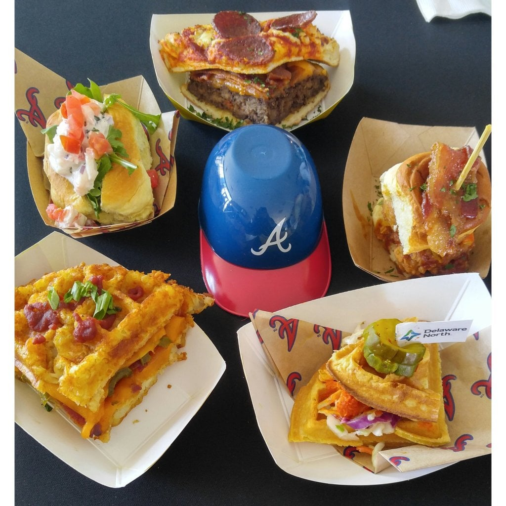 Popsugar Food: Food At The Atlanta Braves Stadium