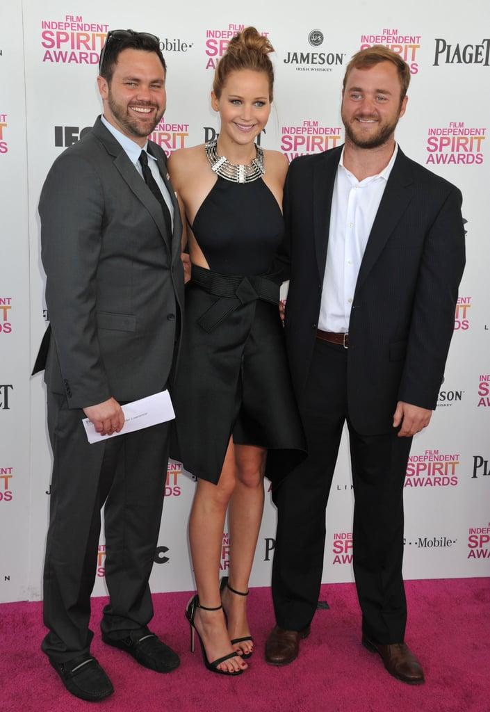 Jennifer, Blaine, and Ben Lawrence