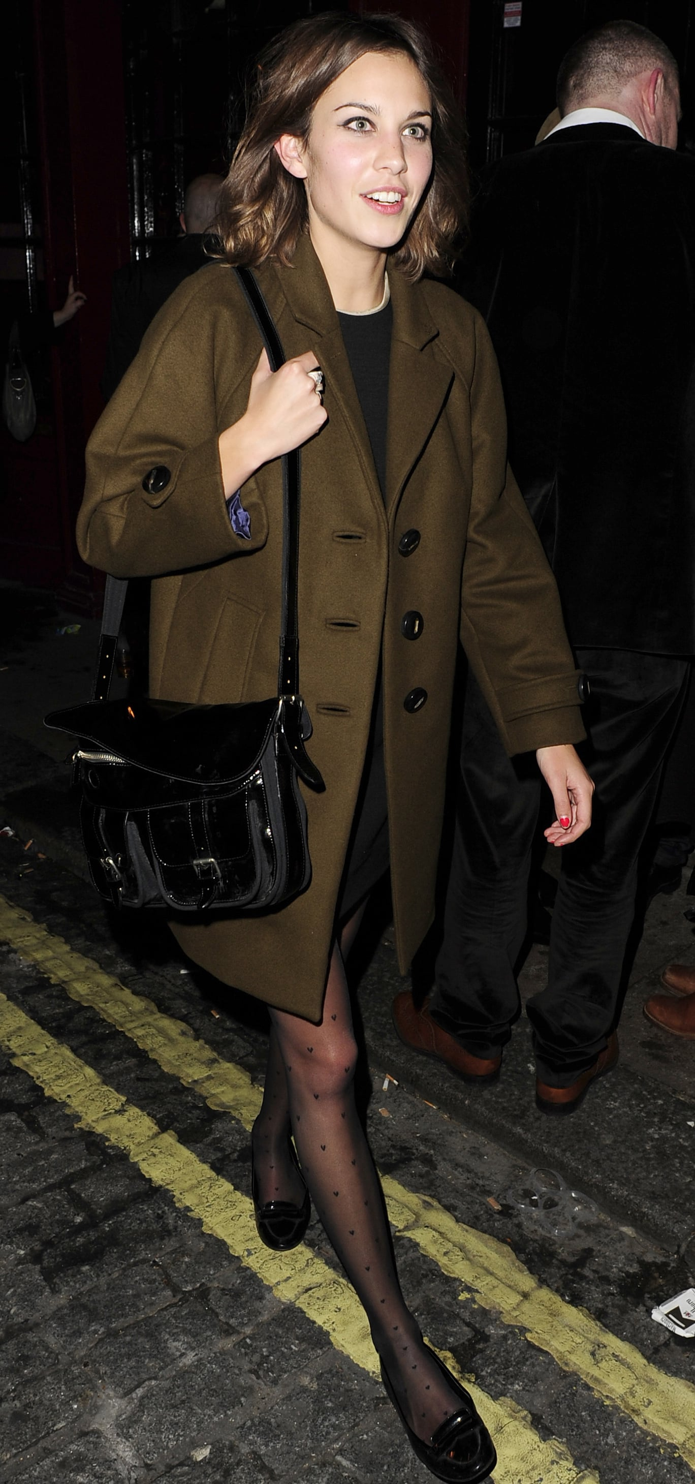 photos from 2008 q awards afterparty including alexa chung