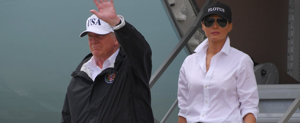 Melania Trump's Controversial Shoe Switch-Up Has Been the Talk of the Day