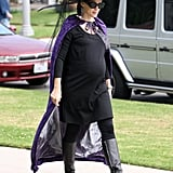 Jennifer Garner didn't let her bump stop her from celebrating with a witch look in LA in 2011. RelatedHarry Potter's Butterbeer Made With Actual Butter and Beer