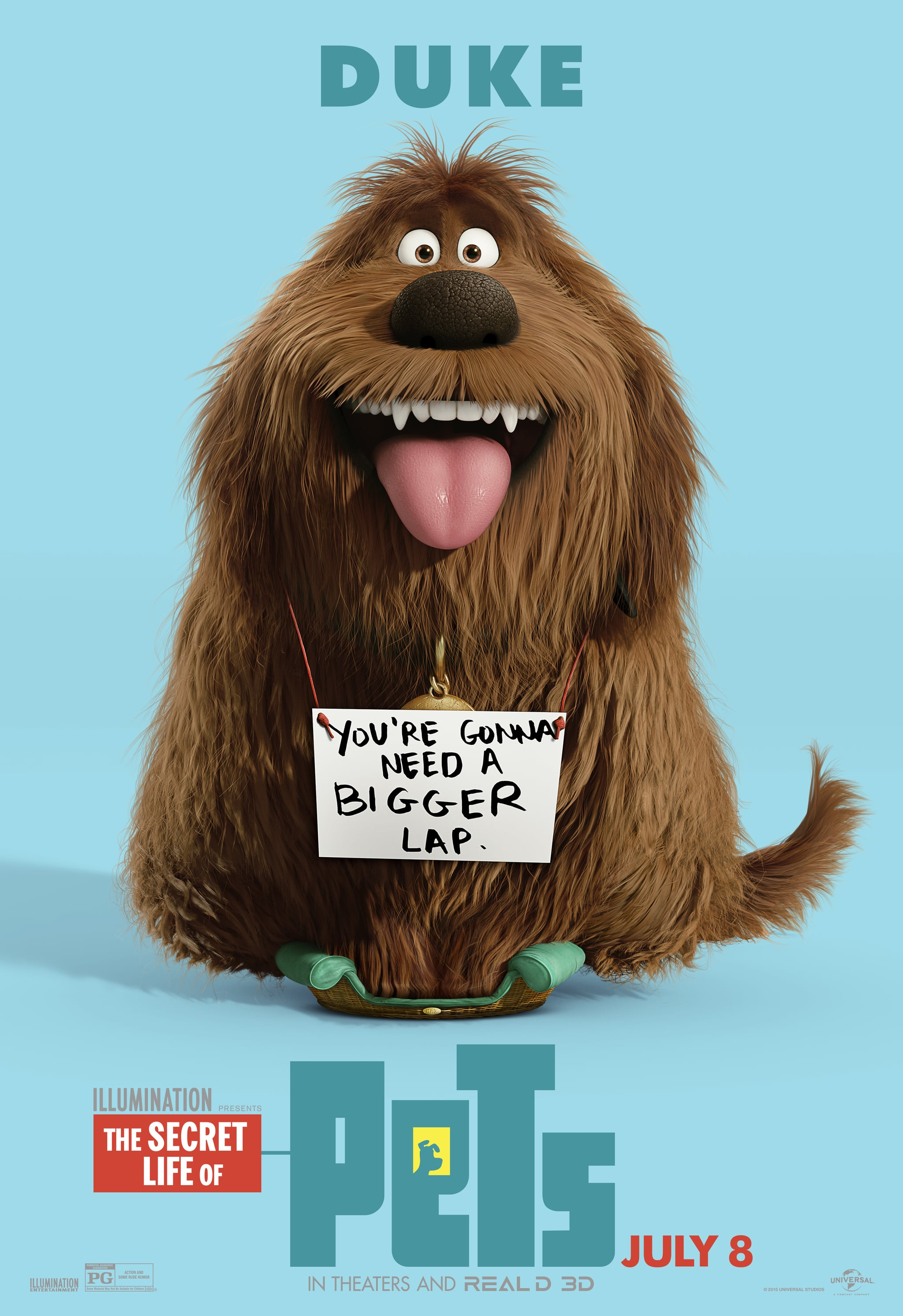 Dogs Cats And Other Pets The Secret Life Of Pets Character Posters Are Here And They Re Cuter Than The Trailer Popsugar Pets Photo 4