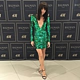 """Doing my best @carineroitfeld . @hm @yesornoah... Thank you. Love. @mrchrismcmillan @jostrettell #hmbalmaination,"" Selma Blair posted to Instagram."
